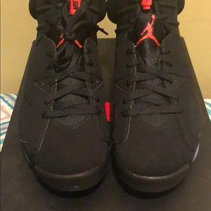 Air Jordan 6 retro black/infrared